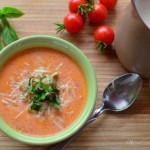 Garden Fresh, Creamy Tomato Basil Soup Recipe