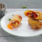 Sweet Chili Baked Egg Rolls Recipe