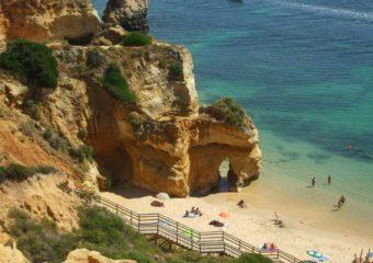 Ocean cove, Algarve, Portugal
