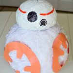 How to Make a BB-8 Piñata for Your Child's Star Wars Birthday Party!