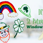 St. Patrick's Day Window Clings Craft!