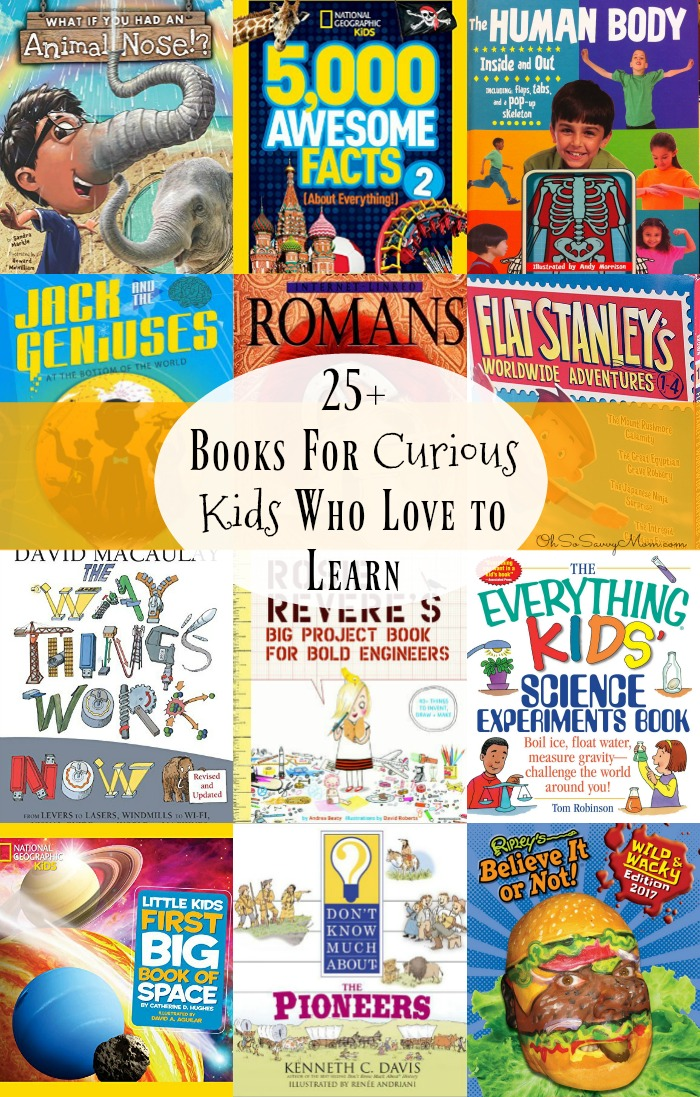 Books for Curious Kids Who Love to Learn