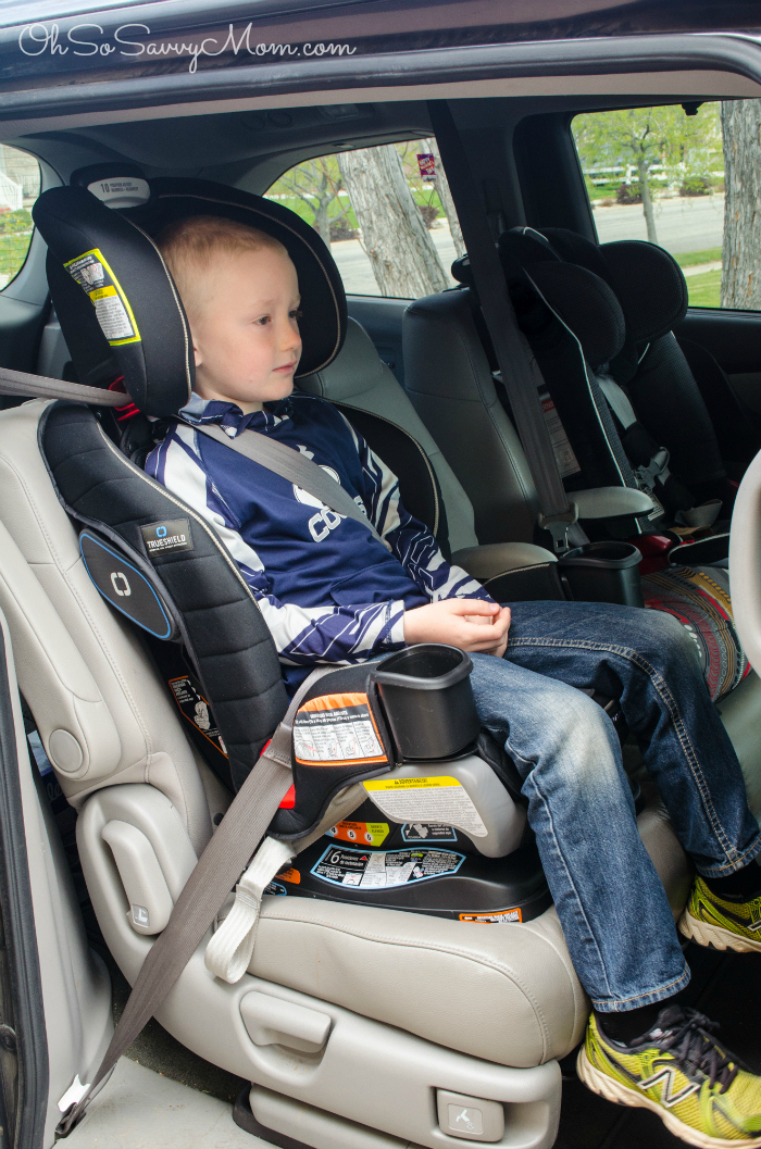 Graco Extend2Fit 3-in-1 Car Seat booster seat with 7 year old