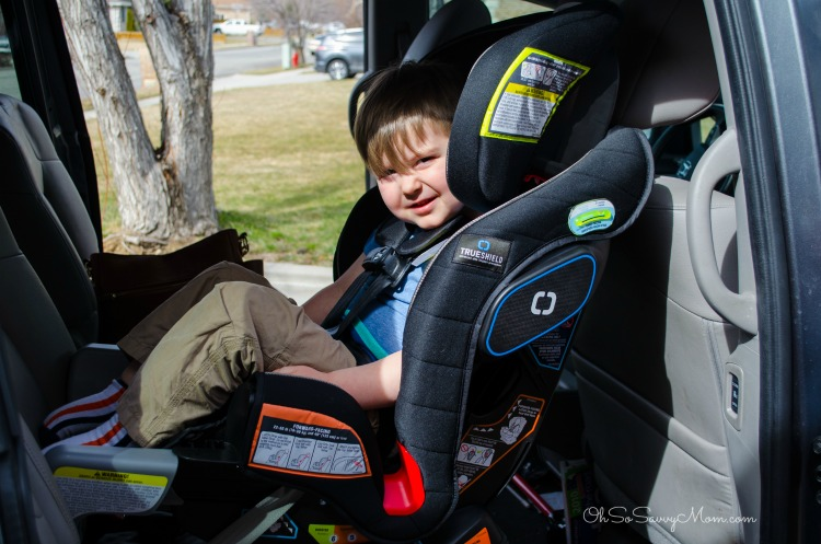 Graco Extend2Fit 3-in-1 Car Seat extended rear facing car seat with 3 year old