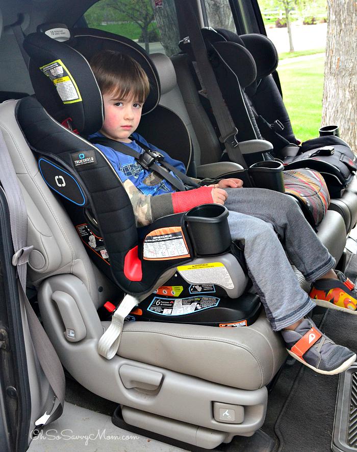 Forward Facing Car Seat Position