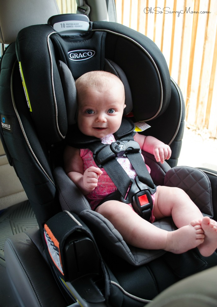 Graco Extend2Fit 3 In 1 Car Seat With 6 Month Old