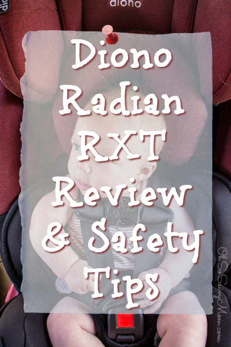 Diono Radian RXT Review and Installation Tips