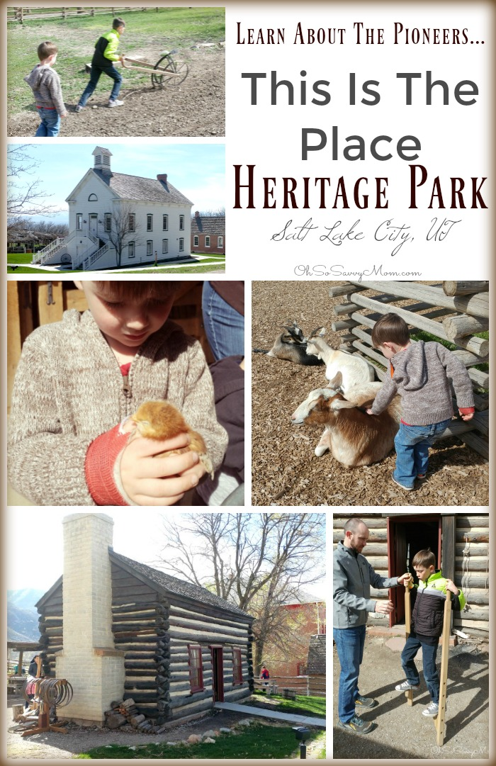 Learn About the Pioneers at This Is The Place Heritage Park