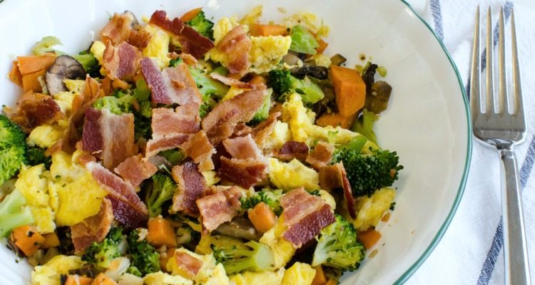 Bacon and Egg Macro Bowl Recipe – Clean Eating and Gluten-Free Breakfast, Lunch, or Dinner