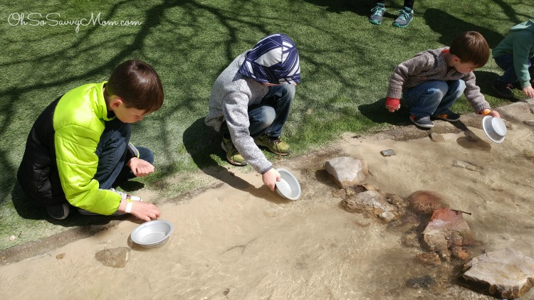 panning for gold at This Is The Place Heritage Park