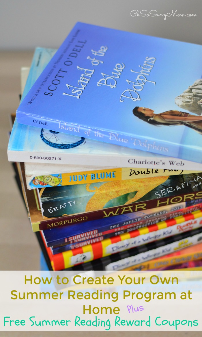 How to Create Your Own Home Summer Reading Program