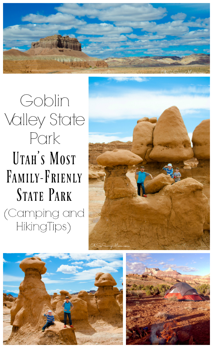 Visiting Goblin Valley State Park with Kids camping tips