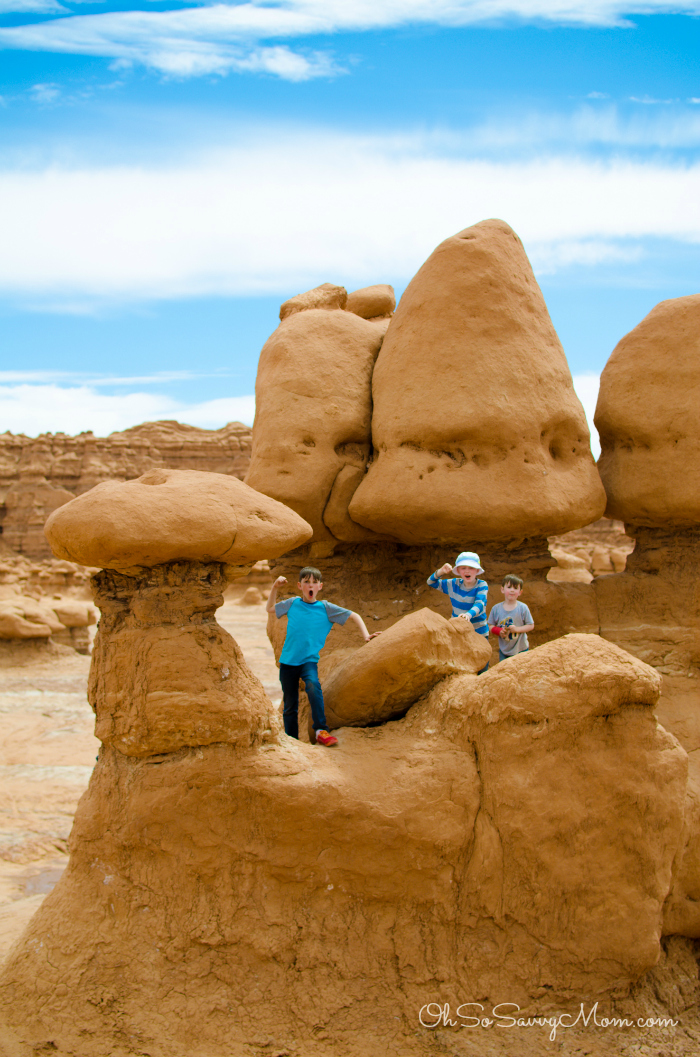 Visiting Goblin Valley State Park with Kids