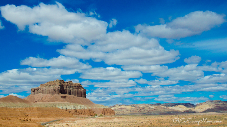Wild Horse Butte at Goblin Valley State Park Utah