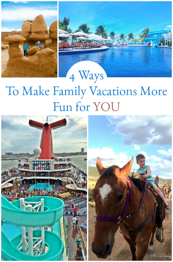 4 Ways to Make Family Vacations More Fun For You