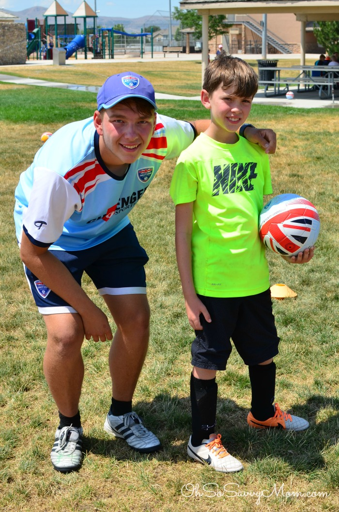 British Soccer Camp with Coach