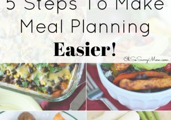 5 Tips to Make Meal Planning Easier