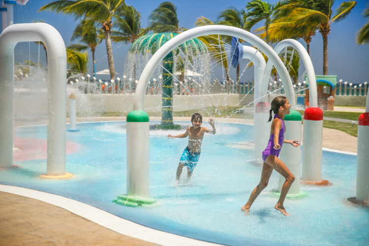 Moon Palace Jamaica Family Friendly All-Inclusive Resort with Waterpark for kids