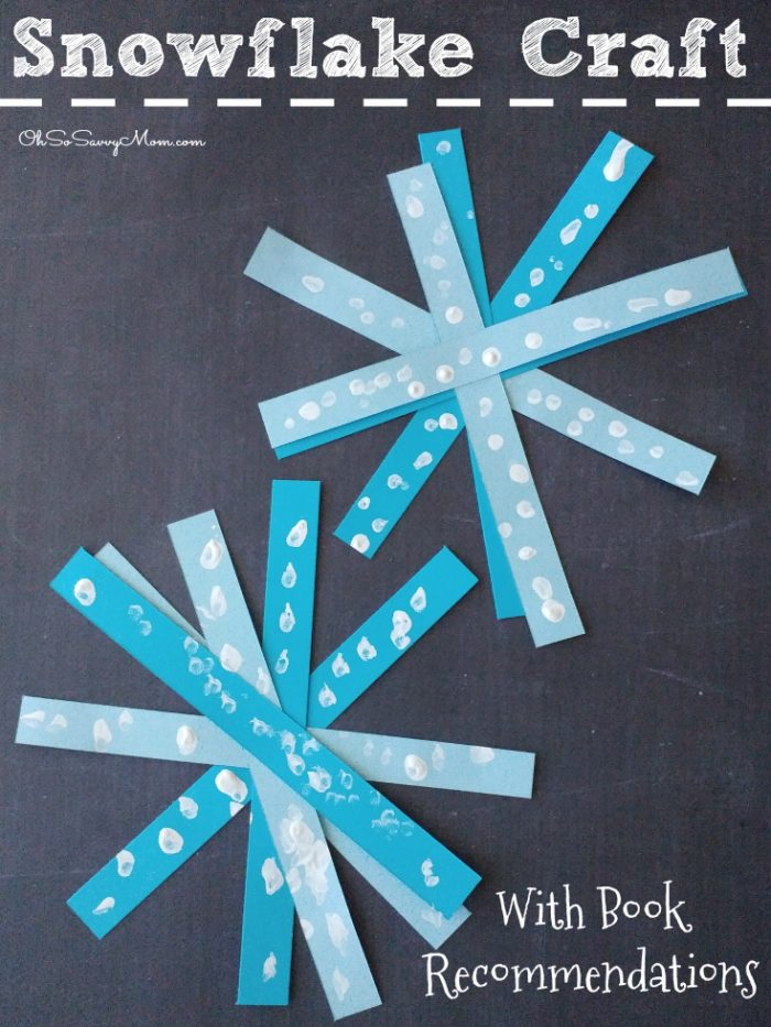 Winter Snowflake Craft for kids