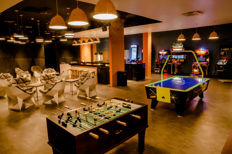 teen game room Moon Palace Resort Jamaica Grande All-Inclusive Resort for Families