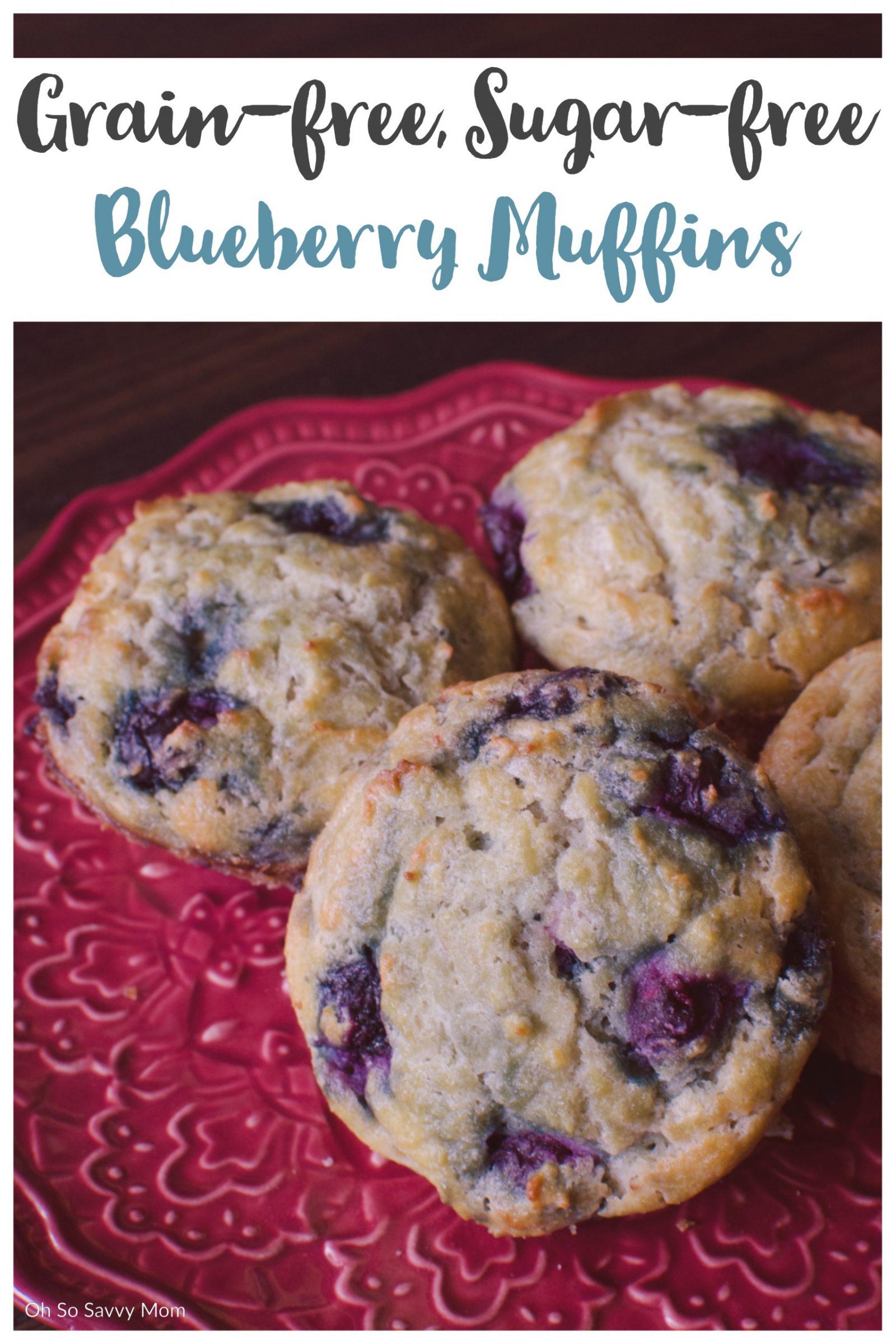 Gluten-Free, Sugar-Free Muffins