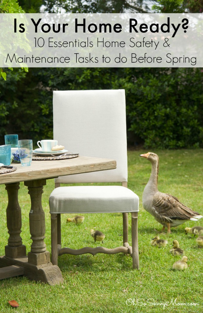 10 Essential Home Safety & Maintenance Tasks to Do Before Spring