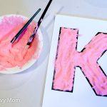 Puffy Paint Letter Chicka Chicka Boom Boom Letter Activity