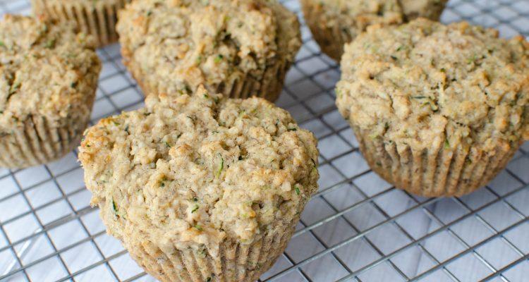 Gluten-free Banana Zucchini Bread Muffins Recipe! An Instant Family Favorite!
