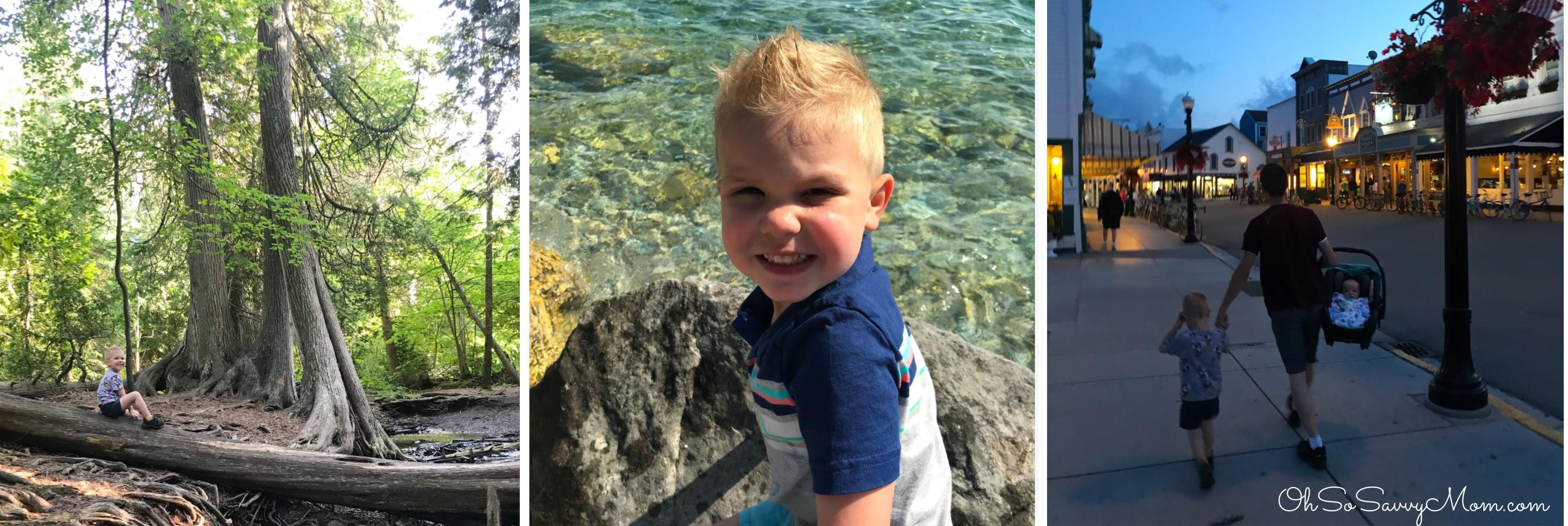 Vacationing on Mackinac Island with Kids
